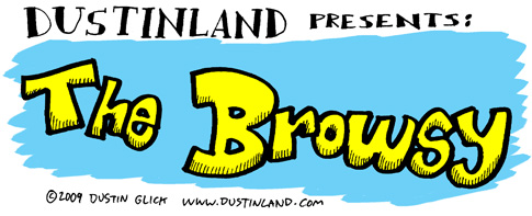 dustinland the browsy comic