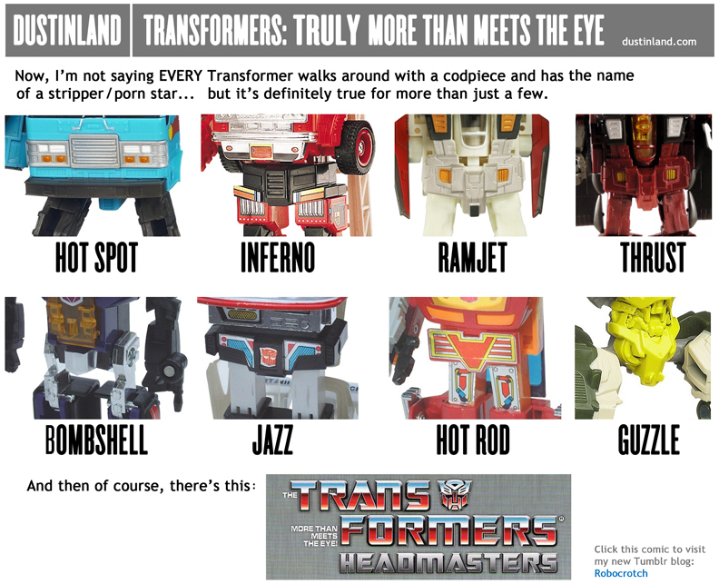 dustinland transformers comic