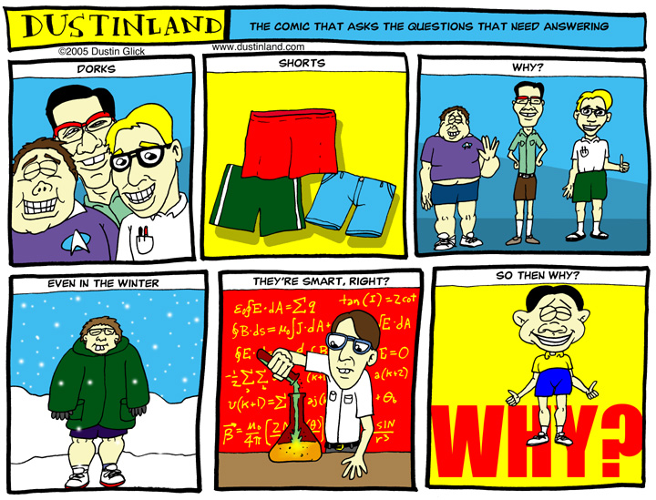Dustinland dorks comic