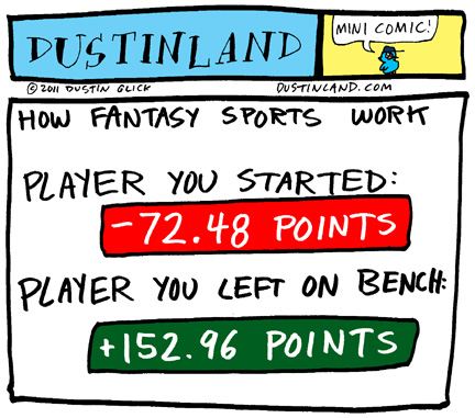 dustinland fantasy sports