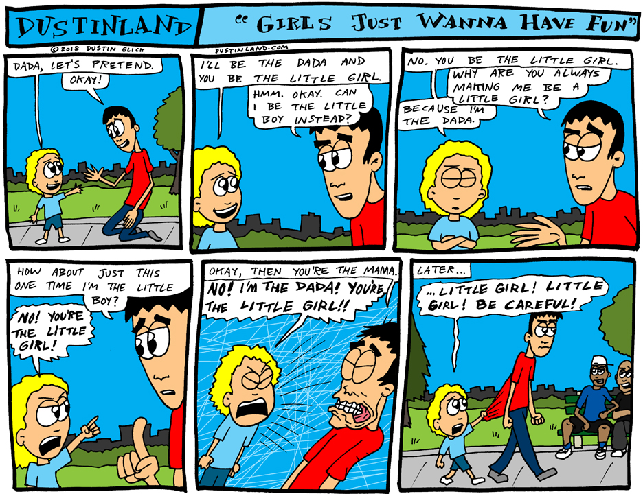 dustinland girls just wanna have fun comic