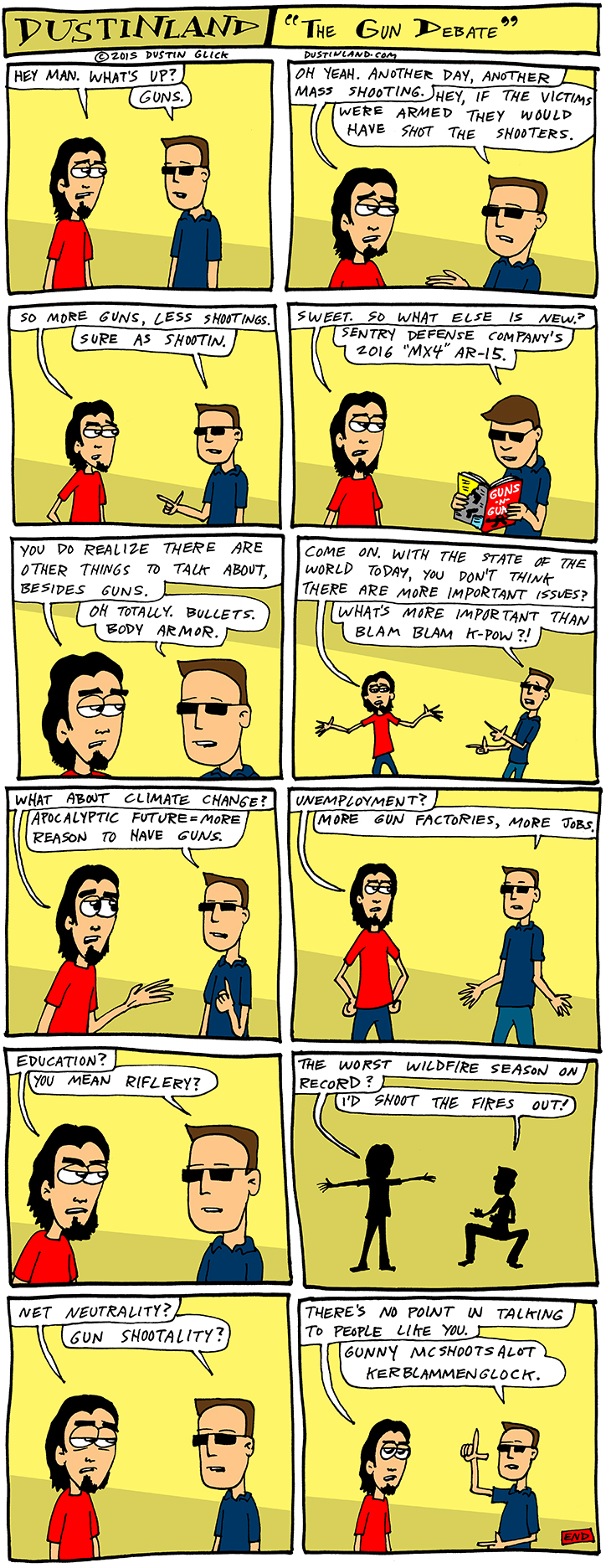dustinland gun debate comic