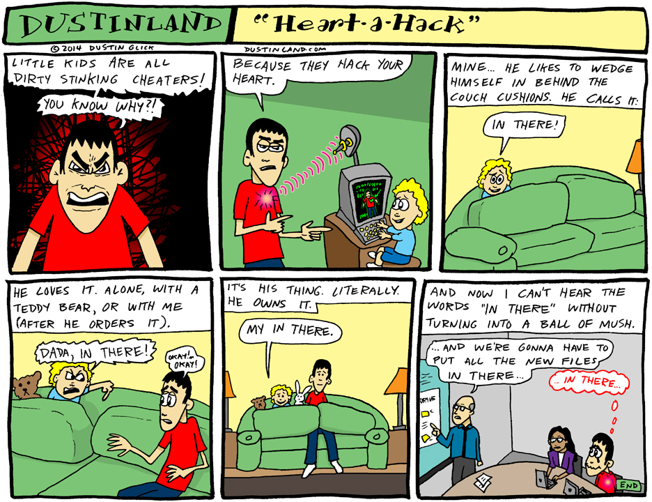 dustinland heart a hack comic