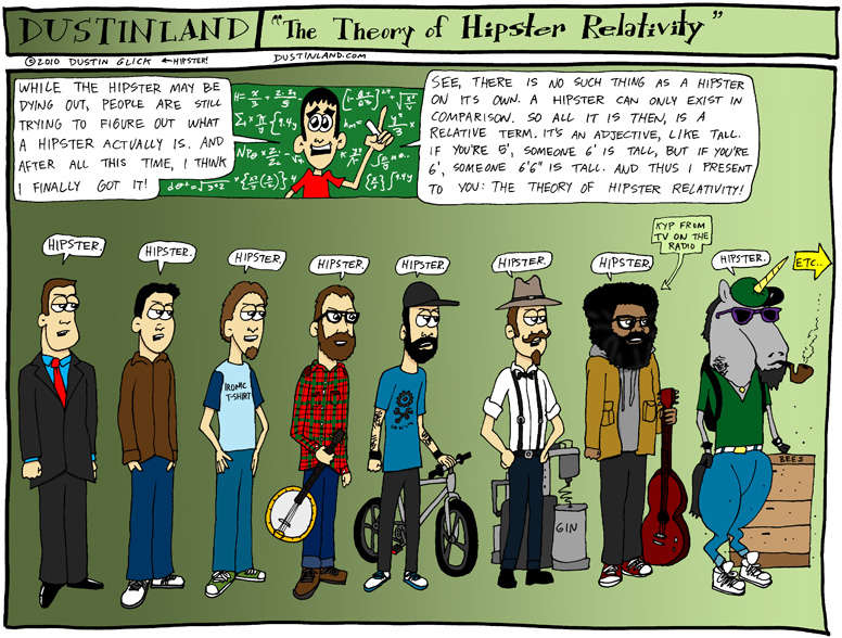 Dustinland hipster comic