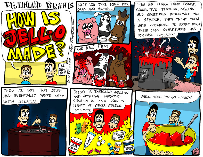 Dustinland comic jello