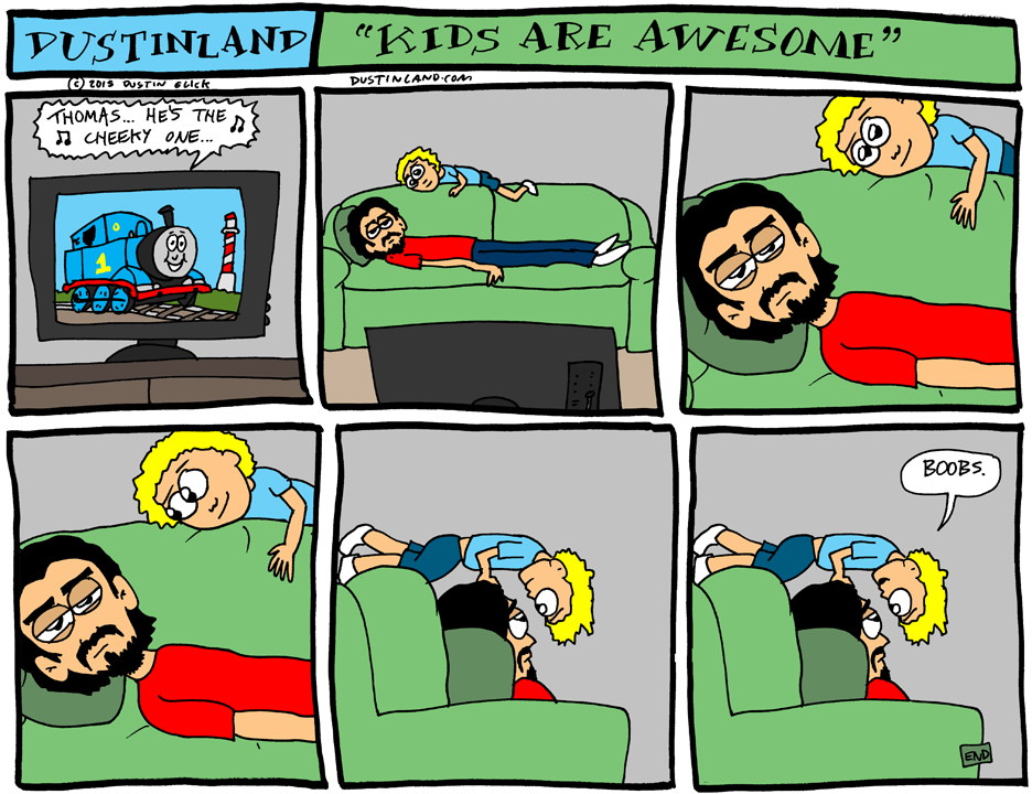 dustinland kids are awesome comic