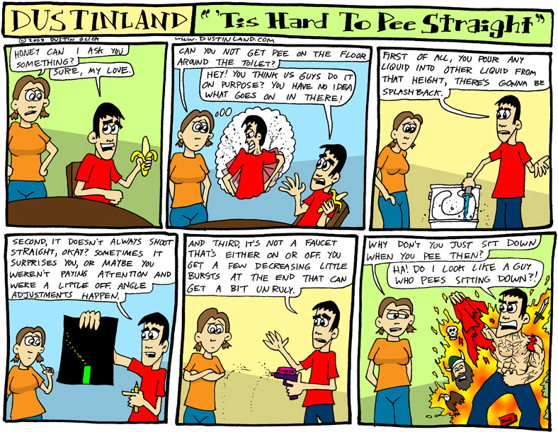 dustinland comic cartoon
