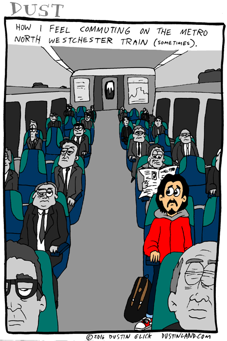 dustinland metro north comic